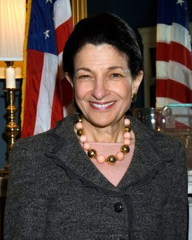 Head shot of Olympia Snowe