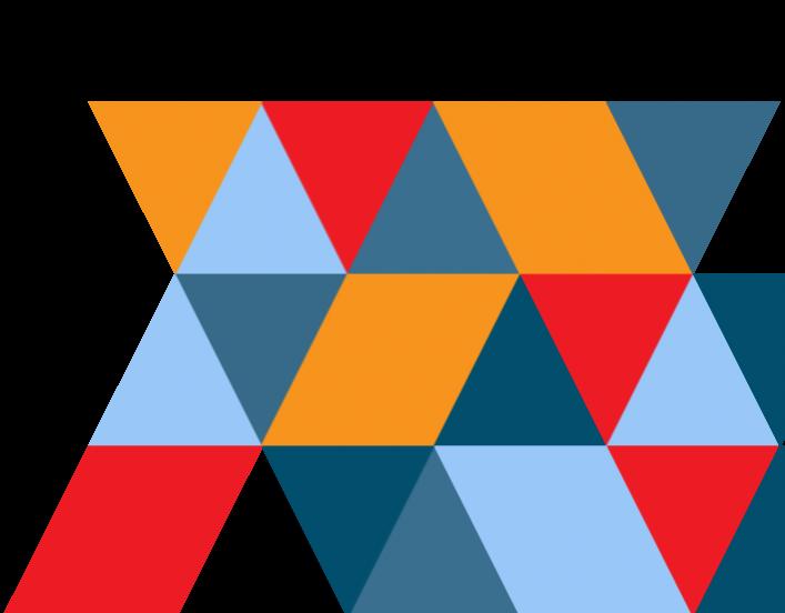 image of random triangles