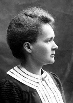 Marie Curie's 1903 Nobel portrait
