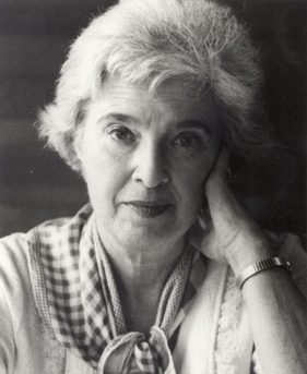 Black and white photo of Gerda Lerner, courtesy of the University of Wisconsin Madison Archives