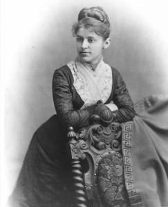 The first American Fellowship recipient, Ida Street
