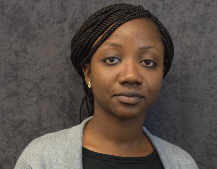 head shot of Olamide Opadokun, 2018-19 International Fellow
