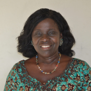 Head shot of Mary Priscilla Dzansi-McPalm, a 2012-13 International Project Grantee