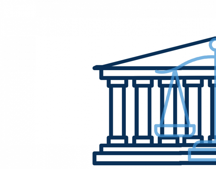 image of the supreme court and scales of justice
