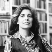 1957-58 American Fellow and author Susan Sontag