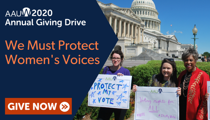 We Must Protect Women's Voices: Give Now
