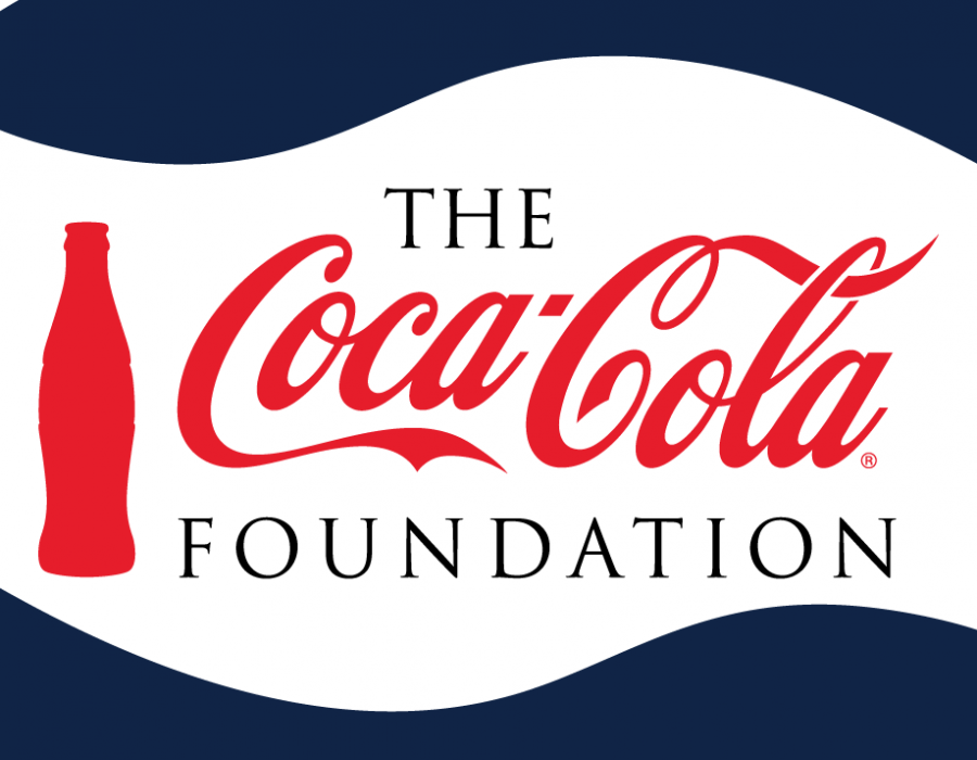 The Coca-Cola Foundation logo.