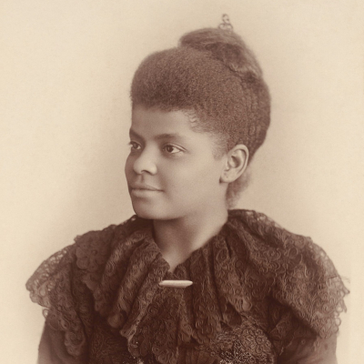 Photo of Suffrage activist Ida B. Wells by Mary Garrity