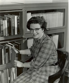 Dr. Roman at her NASA office in the 1960s