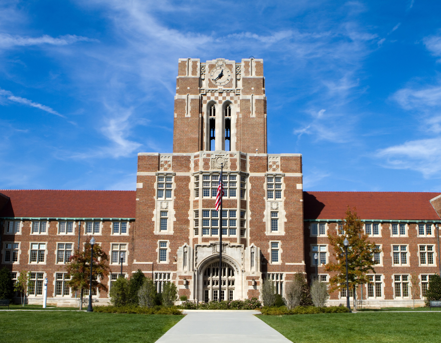 Photograph of campus building at University of Tennessee - Knoxville
